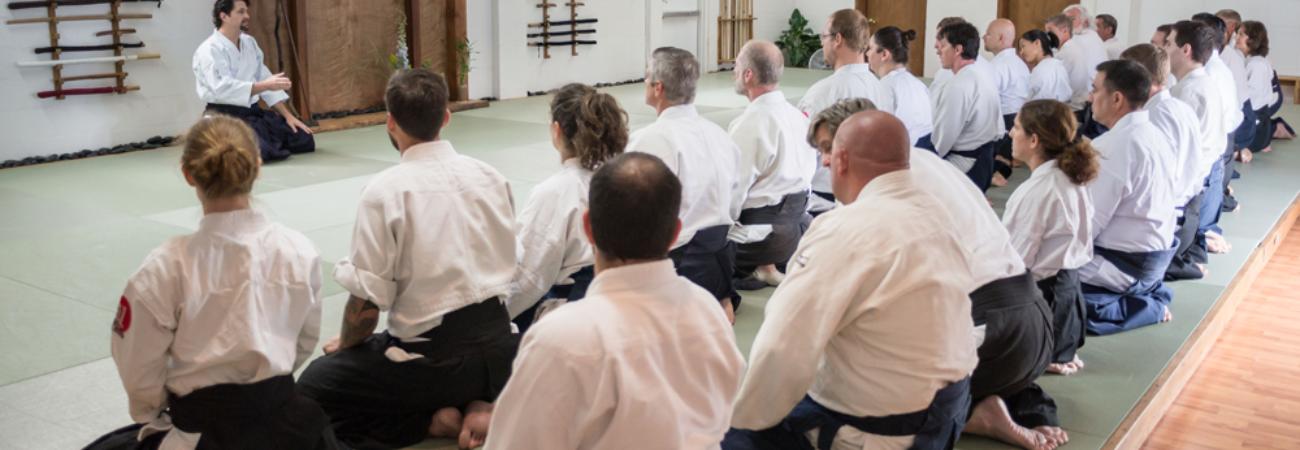 Guy Hagen Sensei at 2014 Dojo Dedication