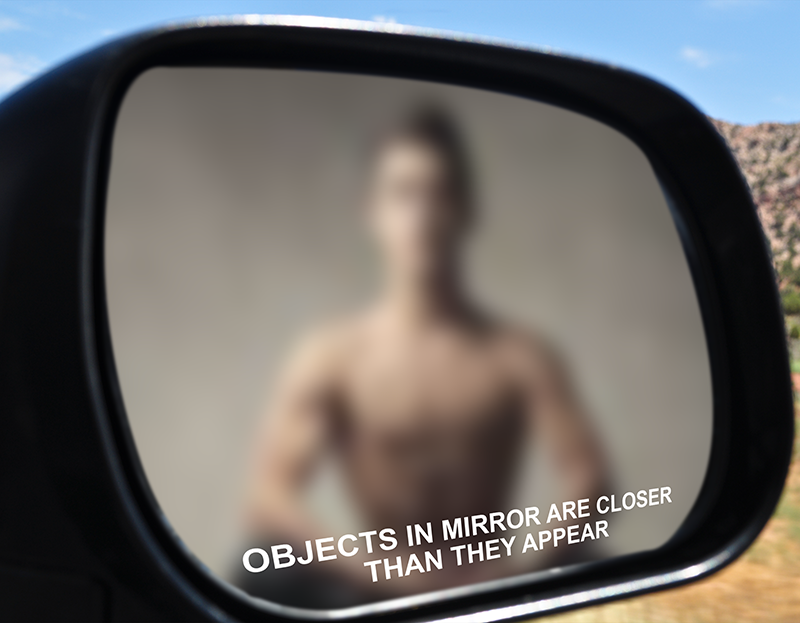 Objects In Mirror May Be Closer Than >> Objects In Mirror May Be Closer Than They Appear Aikido Chuseikan