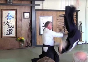 Sensei Bruce Bookman at the Aikido Chuseikan of Tampa Bay