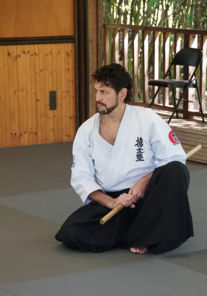 Sensei Guy Hagen at the Aiki Shrine