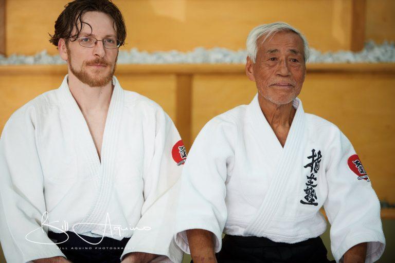 Sensei Barry Engh and Mitsugi Saotome Shihan